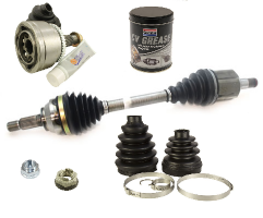 Front Driveshafts, Joints and Boot Kits